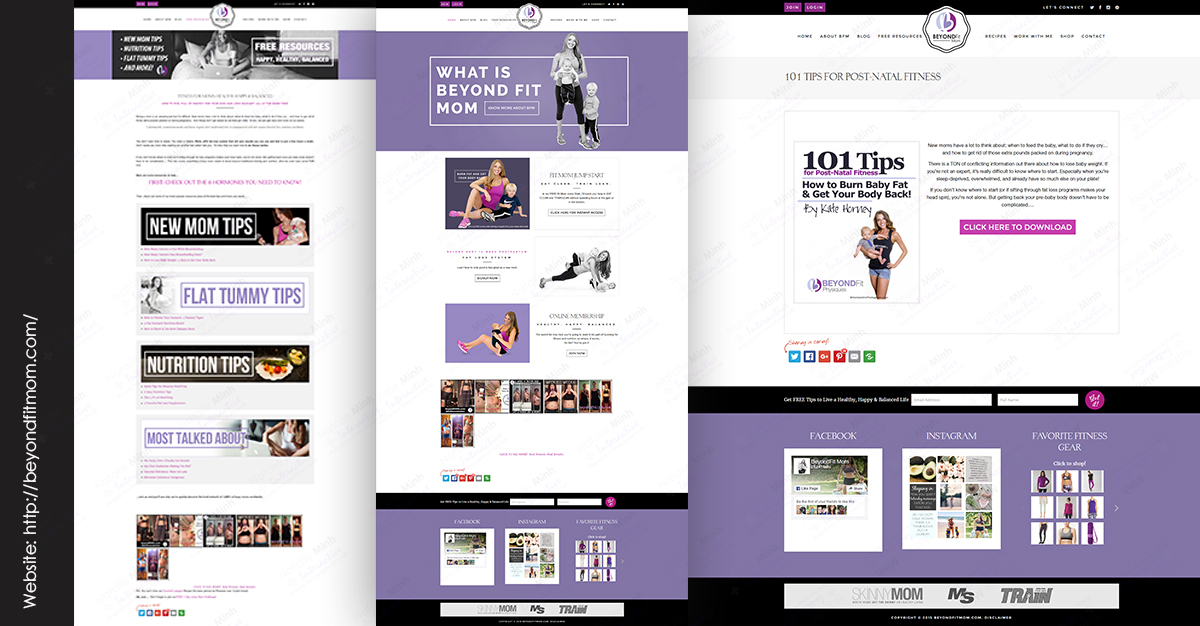 Beyond Fit Fitness Website Design