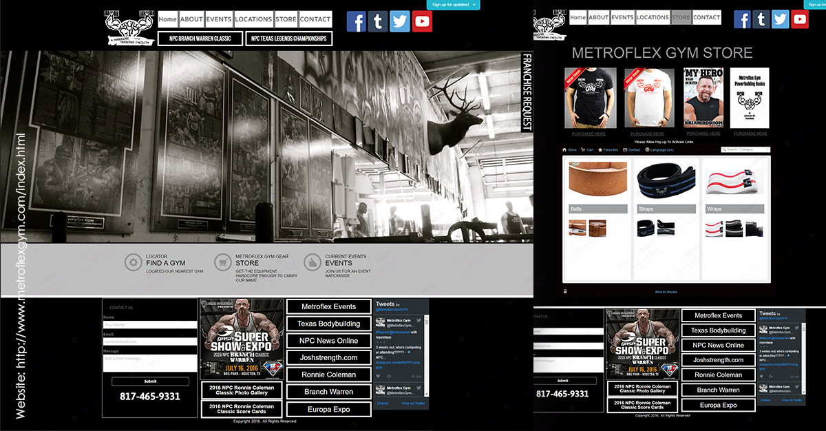 Metro Flex Ecommerce Website Development