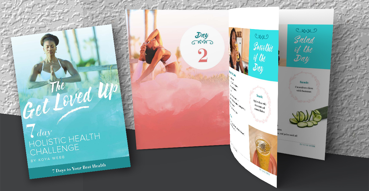 7 Days Holistic Health Challenge Ebook Design