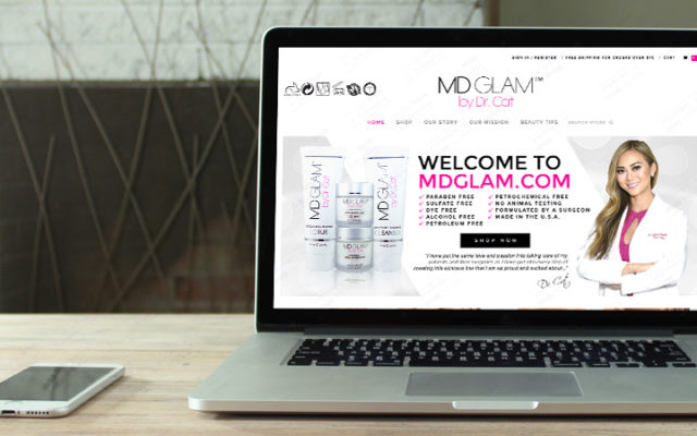 m.d. glam by dr cat begovic