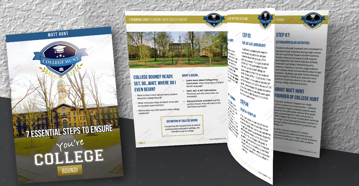 College Hunt Ebook Design and Development