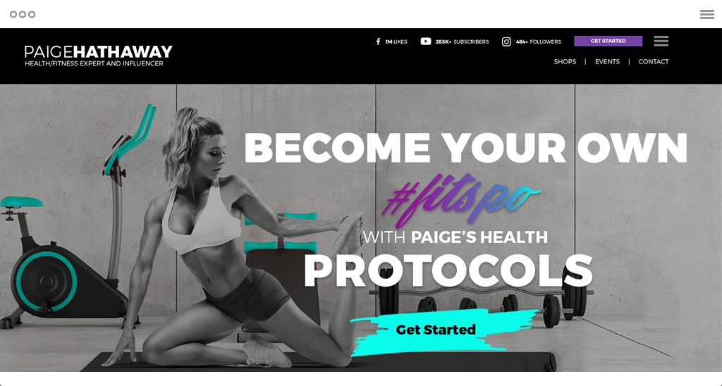 Paige Hathaway's Website Design Case Study