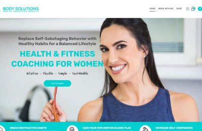 her body solutions web design