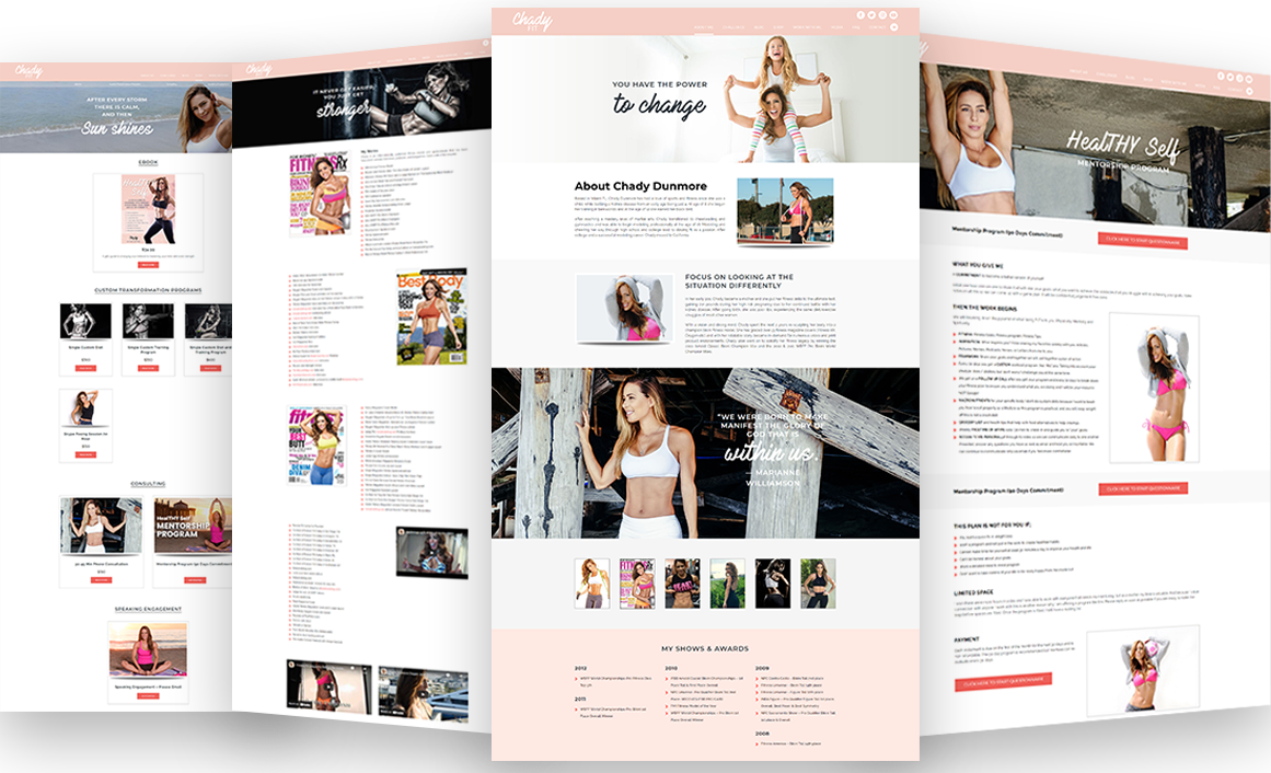 Chady Fit Pages